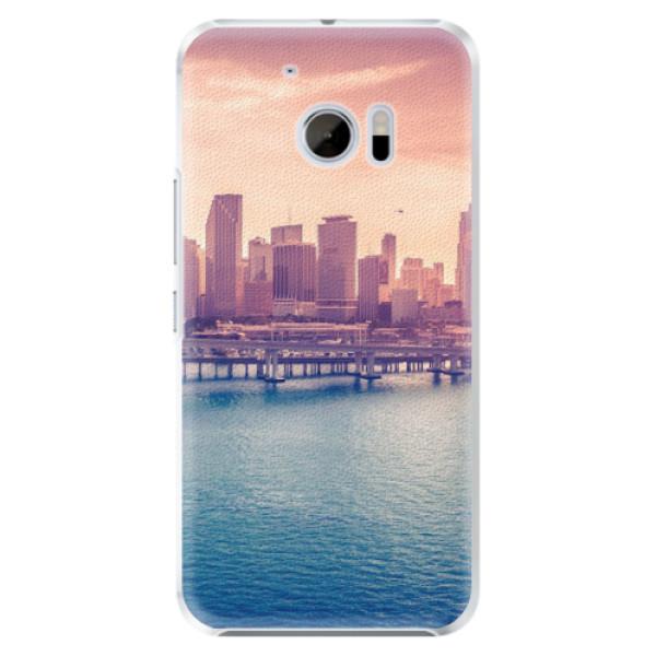 Plastové pouzdro iSaprio - Morning in a City - HTC 10