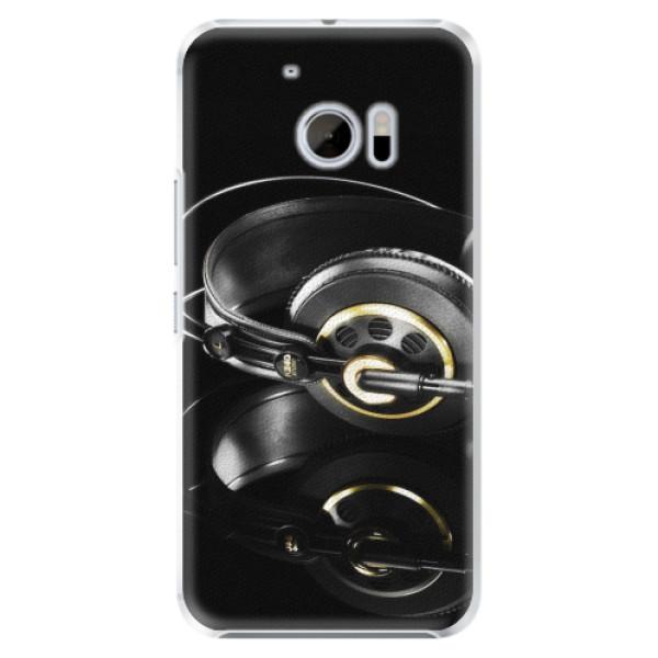 Plastové pouzdro iSaprio - Headphones 02 - HTC 10
