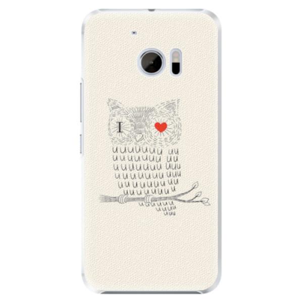 Plastové pouzdro iSaprio - I Love You 01 - HTC 10