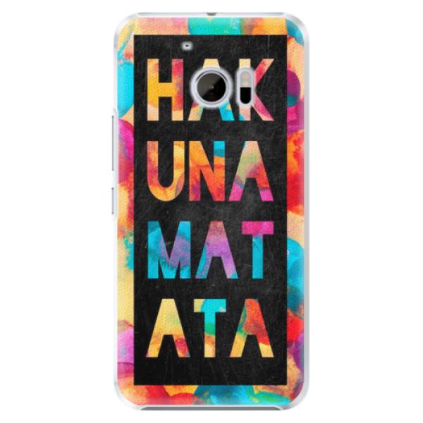 Plastové pouzdro iSaprio - Hakuna Matata 01 - HTC 10