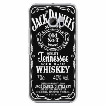 Plastové pouzdro iSaprio - Jack Daniels - HTC 10