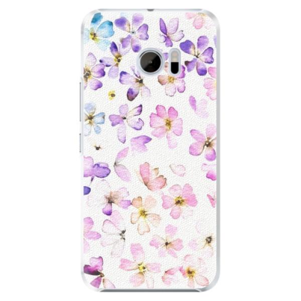 Plastové pouzdro iSaprio - Wildflowers - HTC 10