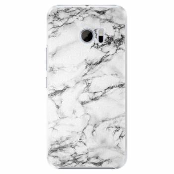 Plastové pouzdro iSaprio - White Marble 01 - HTC 10