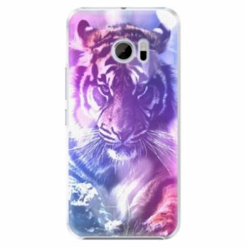 Plastové pouzdro iSaprio - Purple Tiger - HTC 10