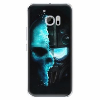 Plastové pouzdro iSaprio - Roboskull - HTC 10