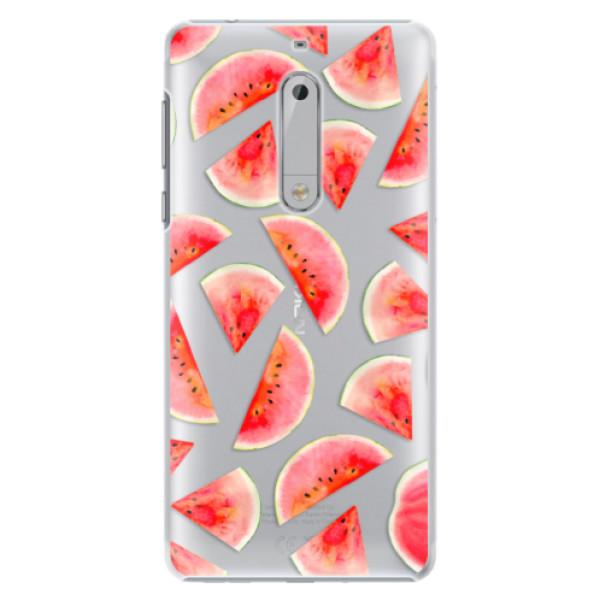 Plastové pouzdro iSaprio - Melon Pattern 02 - Nokia 5