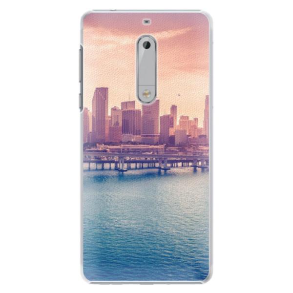 Plastové pouzdro iSaprio - Morning in a City - Nokia 5
