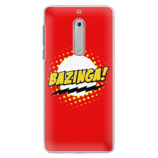 Plastové pouzdro iSaprio - Bazinga 01 - Nokia 5
