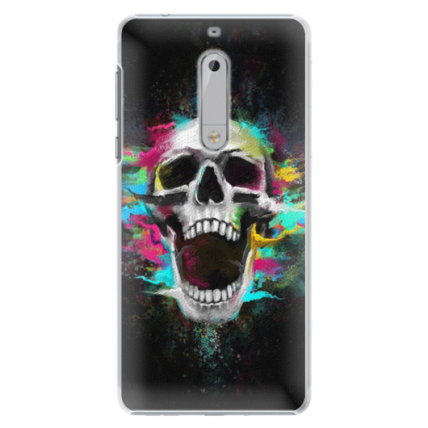 Plastové pouzdro iSaprio - Skull in Colors - Nokia 5