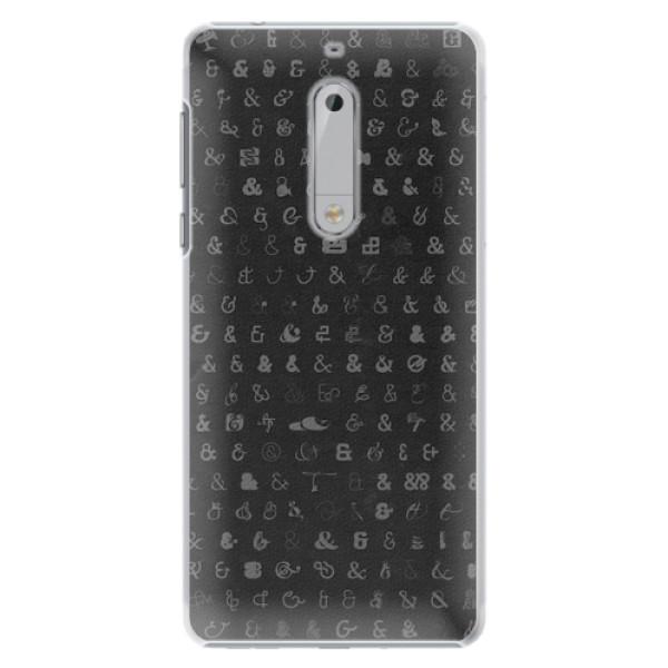 Plastové pouzdro iSaprio - Ampersand 01 - Nokia 5