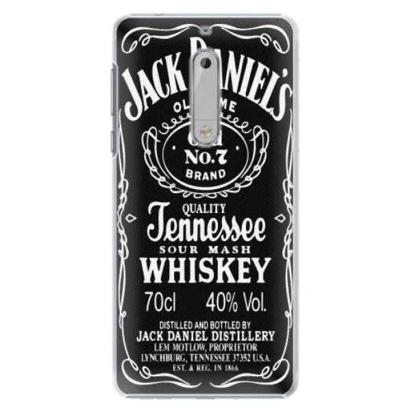 Plastové pouzdro iSaprio - Jack Daniels - Nokia 5