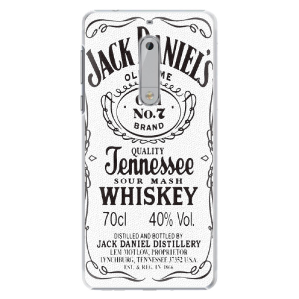 Plastové pouzdro iSaprio - Jack White - Nokia 5