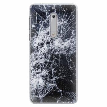 Plastové pouzdro iSaprio - Cracked - Nokia 5