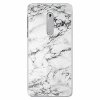 Plastové pouzdro iSaprio - White Marble 01 - Nokia 5