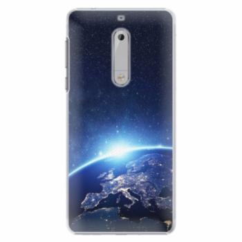 Plastové pouzdro iSaprio - Earth at Night - Nokia 5