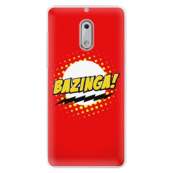 Plastové pouzdro iSaprio - Bazinga 01 - Nokia 6