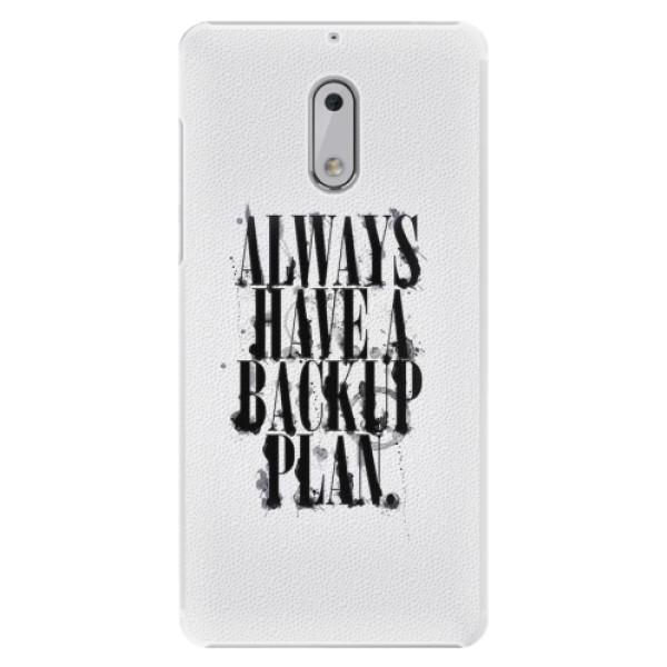 Plastové pouzdro iSaprio - Backup Plan - Nokia 6