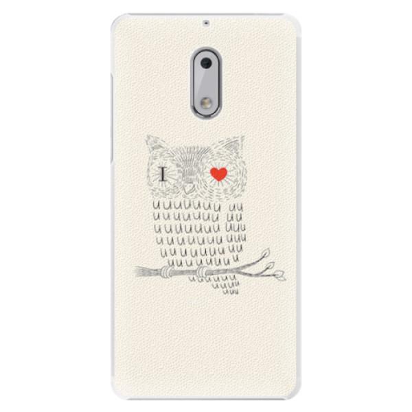 Plastové pouzdro iSaprio - I Love You 01 - Nokia 6