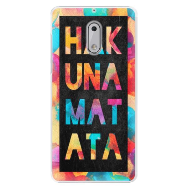 Plastové pouzdro iSaprio - Hakuna Matata 01 - Nokia 6