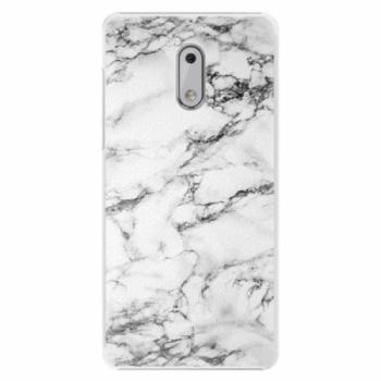 Plastové pouzdro iSaprio - White Marble 01 - Nokia 6