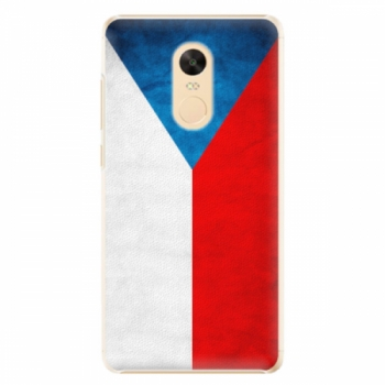 Plastové pouzdro iSaprio - Czech Flag - Xiaomi Redmi Note 4X