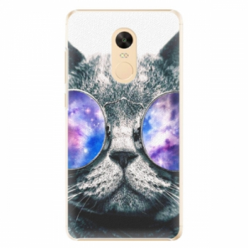 Plastové pouzdro iSaprio - Galaxy Cat - Xiaomi Redmi Note 4X