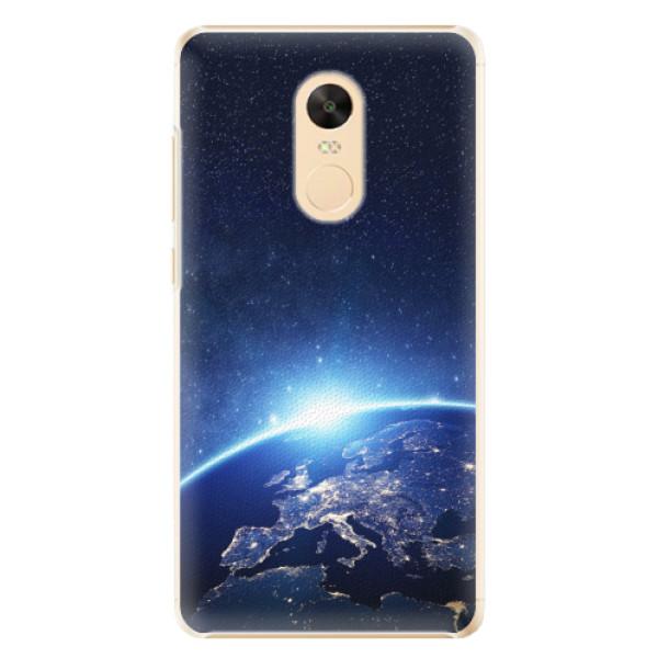 Plastové pouzdro iSaprio - Earth at Night - Xiaomi Redmi Note 4X
