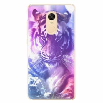 Plastové pouzdro iSaprio - Purple Tiger - Xiaomi Redmi Note 4X