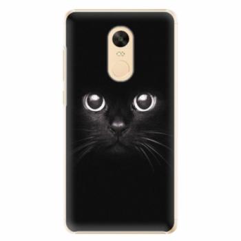 Plastové pouzdro iSaprio - Black Cat - Xiaomi Redmi Note 4X