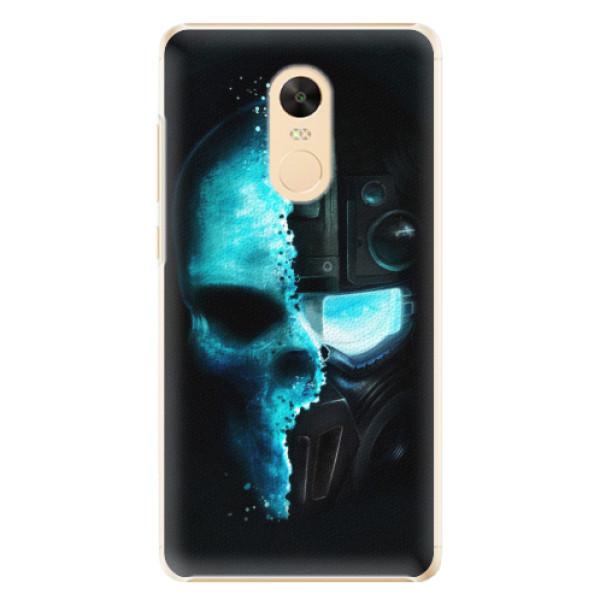 Plastové pouzdro iSaprio - Roboskull - Xiaomi Redmi Note 4X