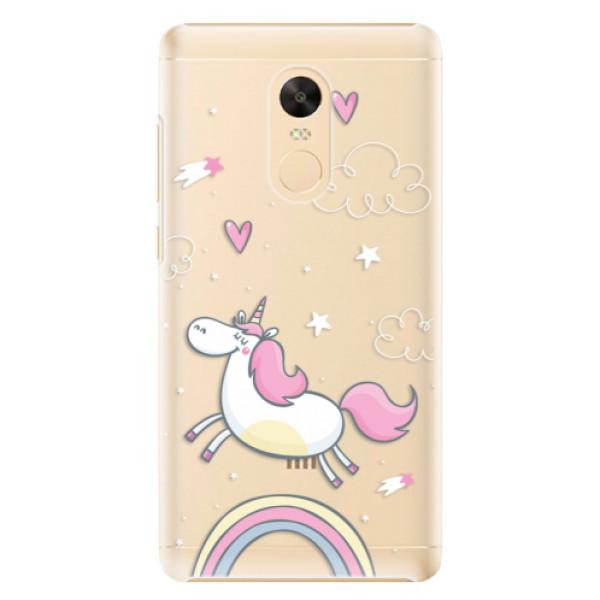Plastové pouzdro iSaprio - Unicorn 01 - Xiaomi Redmi Note 4X