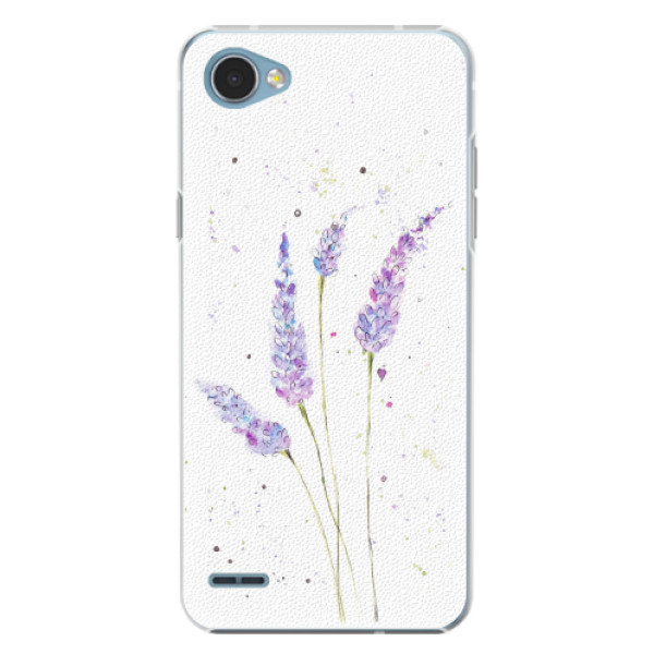 Plastové pouzdro iSaprio - Lavender - LG Q6