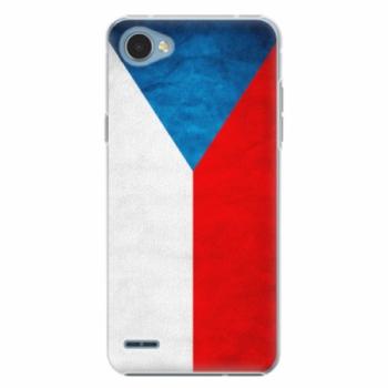 Plastové pouzdro iSaprio - Czech Flag - LG Q6