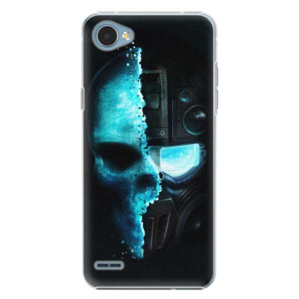 Plastové pouzdro iSaprio - Roboskull - LG Q6