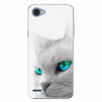 Plastové pouzdro iSaprio - Cats Eyes - LG Q6