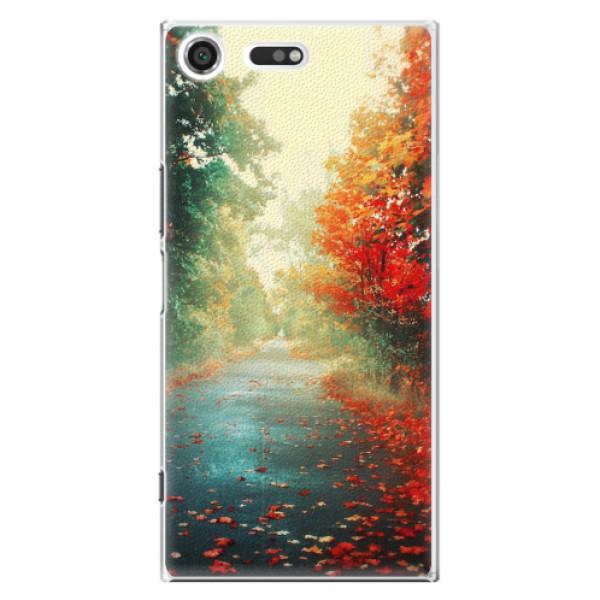 Plastové pouzdro iSaprio - Autumn 03 - Sony Xperia XZ Premium