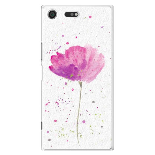 Plastové pouzdro iSaprio - Poppies - Sony Xperia XZ Premium
