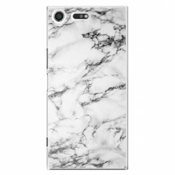Plastové pouzdro iSaprio - White Marble 01 - Sony Xperia XZ Premium