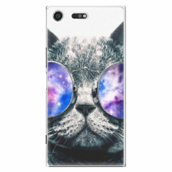 Plastové pouzdro iSaprio - Galaxy Cat - Sony Xperia XZ Premium