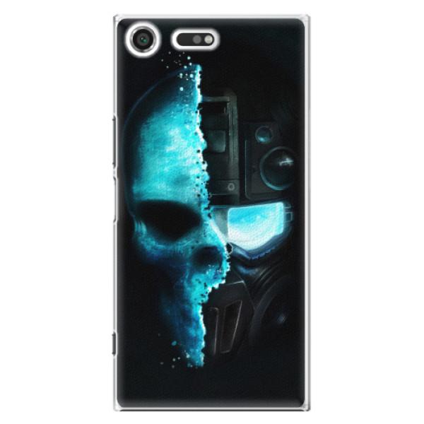 Plastové pouzdro iSaprio - Roboskull - Sony Xperia XZ Premium