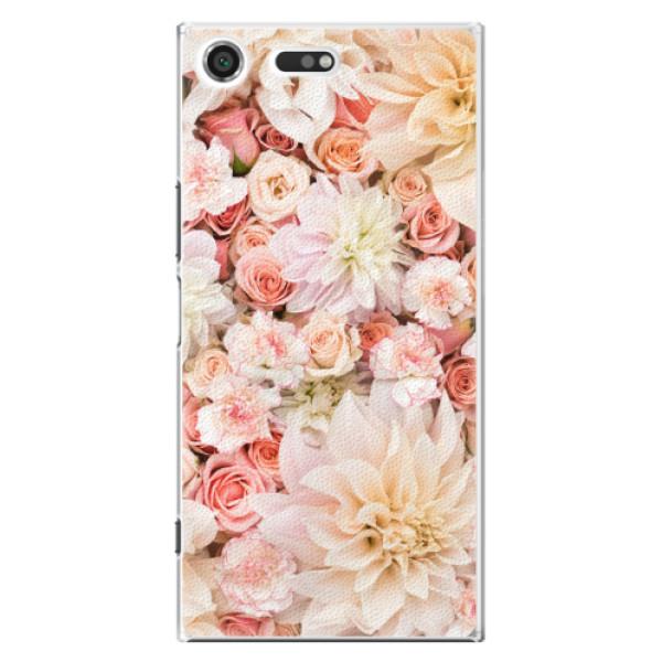 Plastové pouzdro iSaprio - Flower Pattern 06 - Sony Xperia XZ Premium