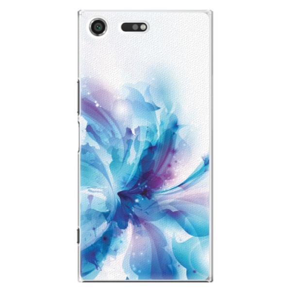 Plastové pouzdro iSaprio - Abstract Flower - Sony Xperia XZ Premium