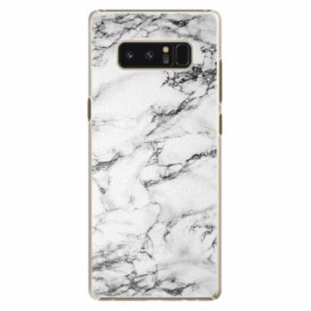 Plastové pouzdro iSaprio - White Marble 01 - Samsung Galaxy Note 8