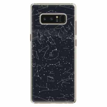 Plastové pouzdro iSaprio - Night Sky 01 - Samsung Galaxy Note 8