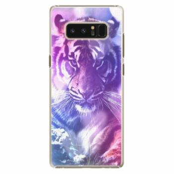 Plastové pouzdro iSaprio - Purple Tiger - Samsung Galaxy Note 8