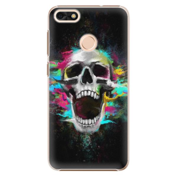 Plastové pouzdro iSaprio - Skull in Colors - Huawei P9 Lite Mini
