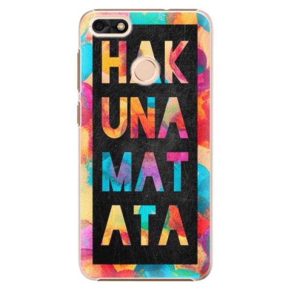 Plastové pouzdro iSaprio - Hakuna Matata 01 - Huawei P9 Lite Mini