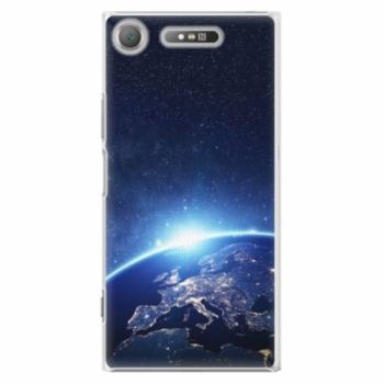Plastové pouzdro iSaprio - Earth at Night - Sony Xperia XZ1
