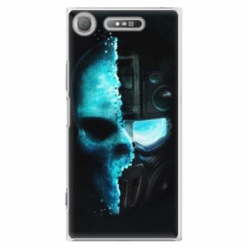 Plastové pouzdro iSaprio - Roboskull - Sony Xperia XZ1