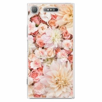 Plastové pouzdro iSaprio - Flower Pattern 06 - Sony Xperia XZ1
